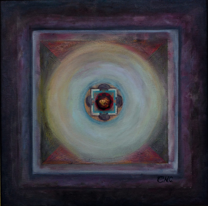 mandala-pictata-tehnica-mixta-30x30-2015
