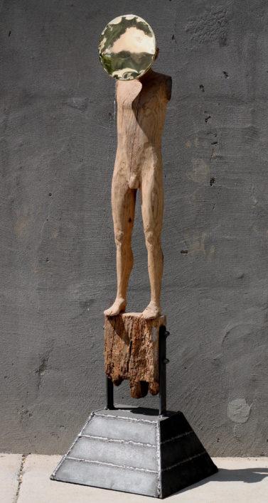 narcis-lemn-si-metal-113x30x30cm