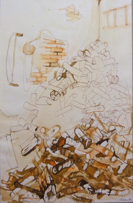 p-lemne-aquarela-tusuri-40cmx-35cm-1998