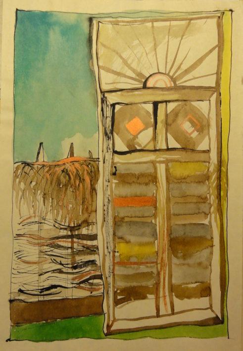p-poarta-soarelui-aquarela-laviuri-40cmx-34cm-1998