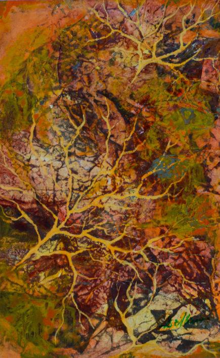structuri-vegetale-tehnica-mixta-20x25-2010