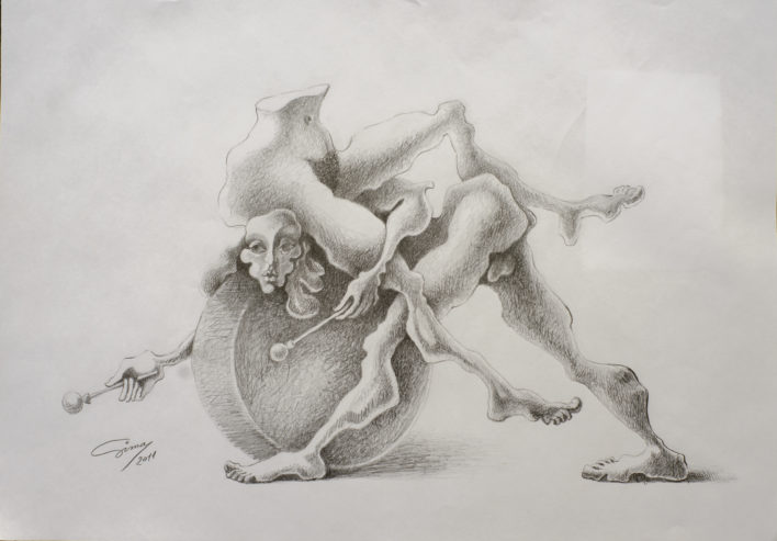 2-din-ciclul-barock-androl-creion-pe-hartie-40x30-2011