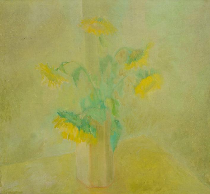 floarea-soarelui-ulei-pe-panza-100x78