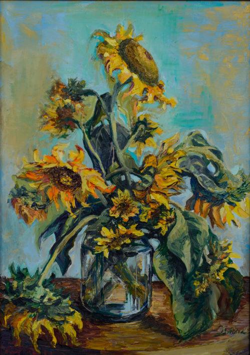 natura-statica-cu-floarea-soarelui-ulei-pe-panza-50x70-2013